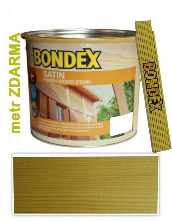 Bondex SATIN 2.5l Bezbarvá 900