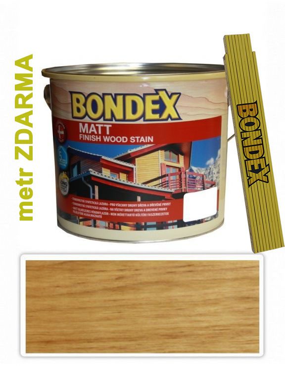 Bondex MATT 2.5l Kaštan