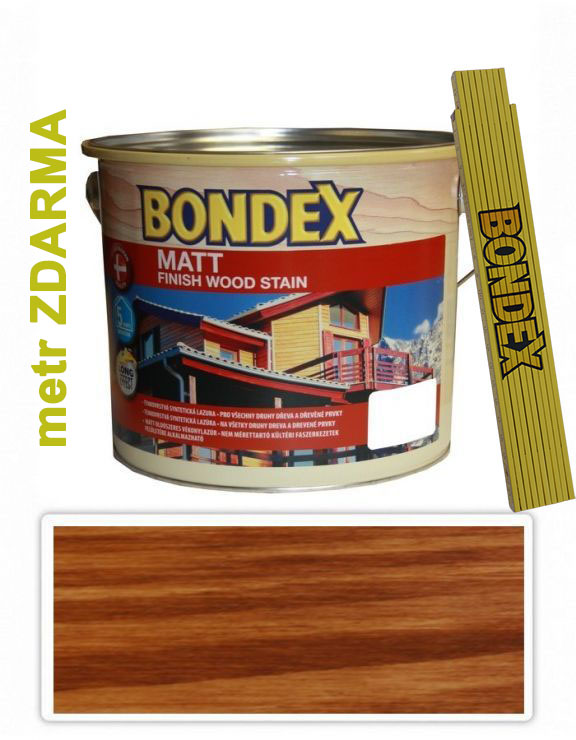 Bondex MATT 2.5l Redwood