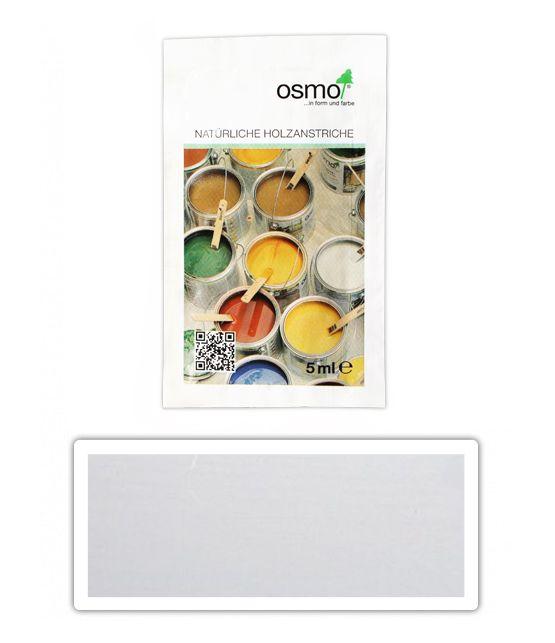 OSMO Dekorační vosk intenzivní odstíny 0.005 l Bílý mat 3186 vzrek