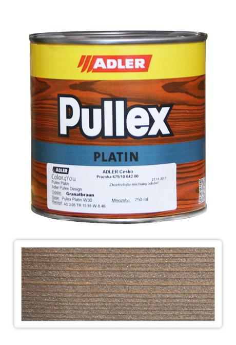 ADLER Pullex Platin 750ml W30 Granatbraun - lazura na dřevo granátově hnědá