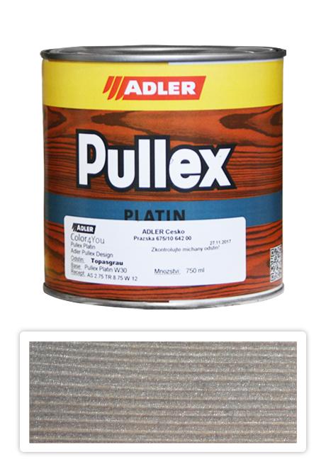 ADLER Pullex Platin 750ml Topasgrau - lazura na dřevo šedý topaz