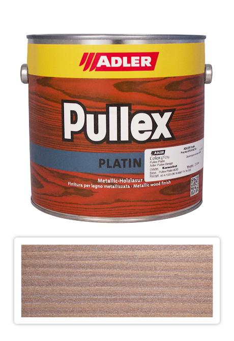 ADLER Pullex Platin 2,5l Karneolrot - lazura na dřevo karneolově červená
