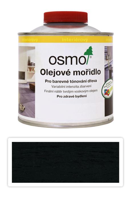 OSMO Olejové mořidlo 0.5 l Černá 3590