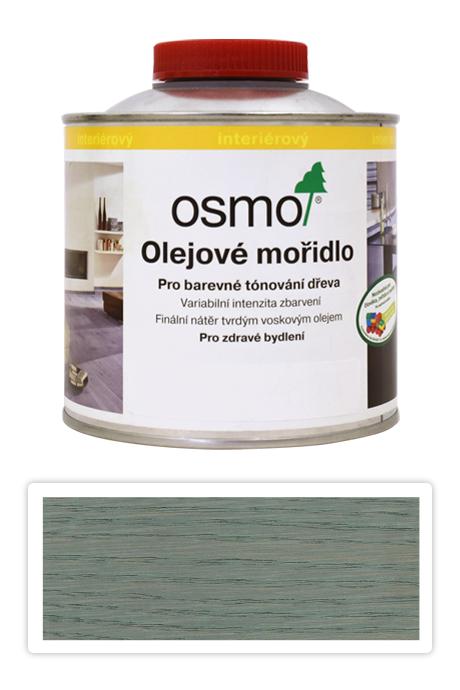 OSMO Olejové mořidlo 0.5 l Stříbrně šedá 3512