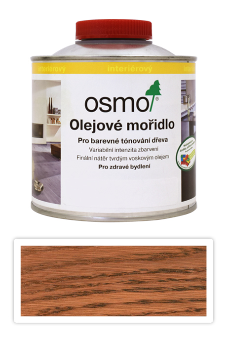 OSMO Olejové mořidlo 0.5 l Jatoba 3516