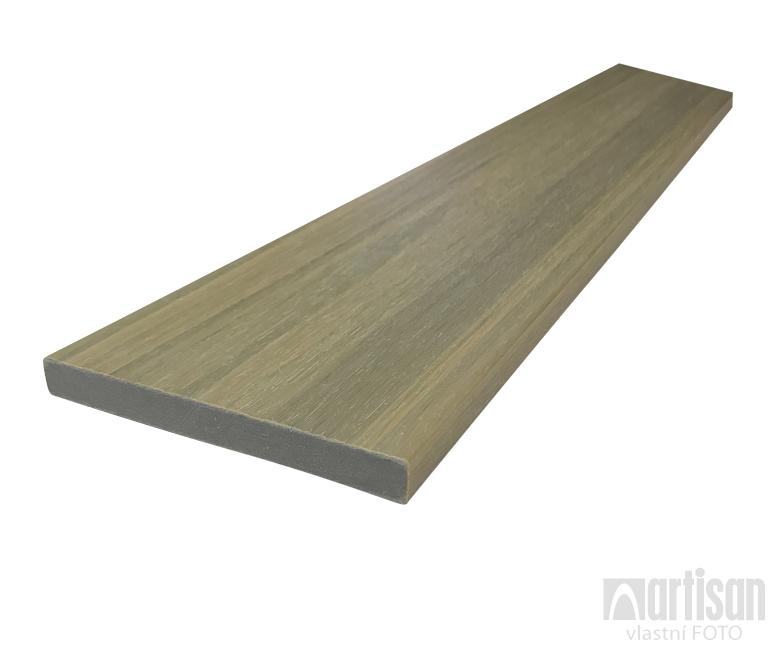 WPC dřevoplastová prkna na plot Dřevoplus Profi 15x138x4000 - Oak