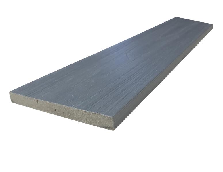 WPC dřevoplastová prkna na plot Dřevoplus Profi 15x138x4000 - Grey (šedá)