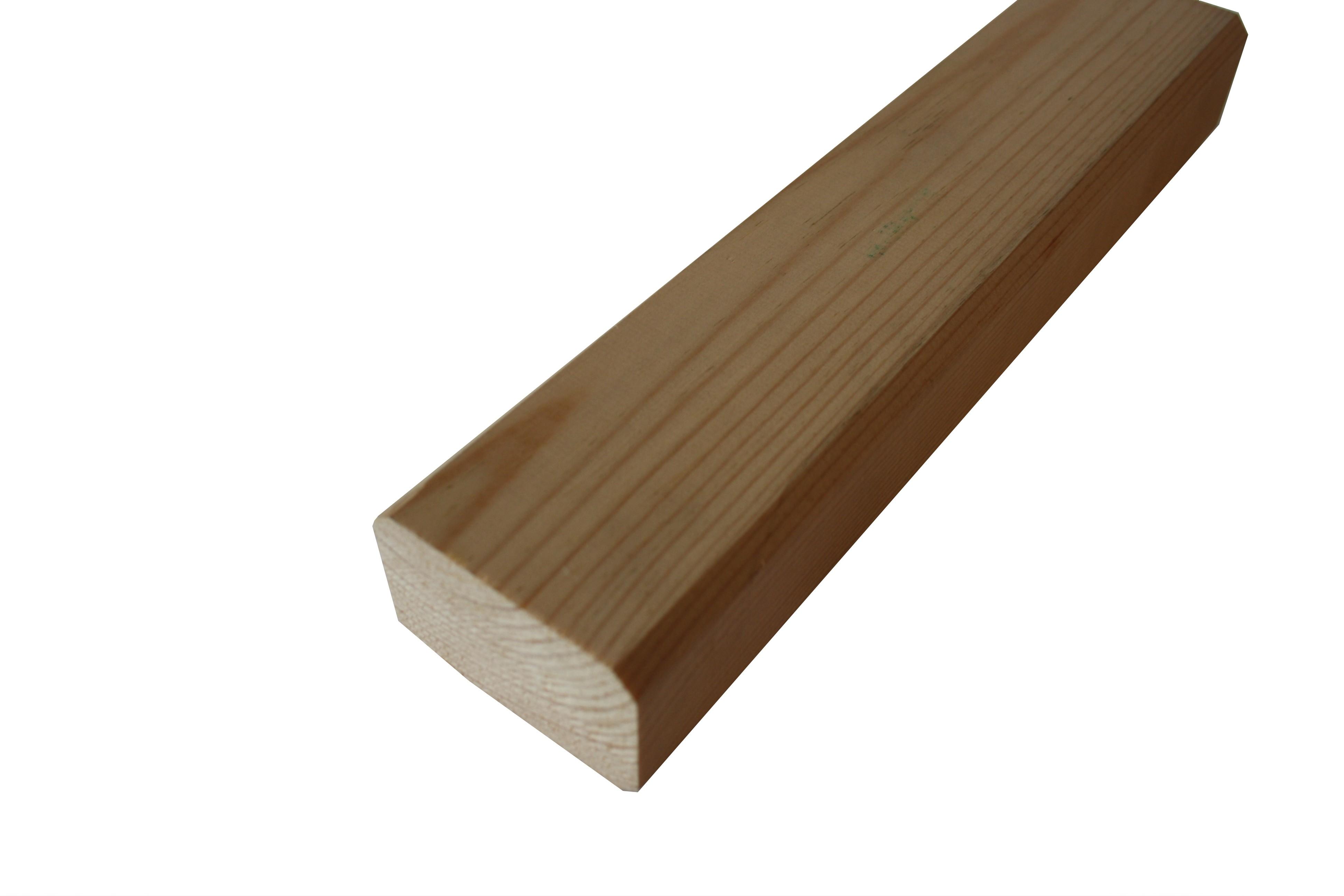 Podkladový hranol dřevěný 45x70x3000 Borovice stepní, kvalita AB