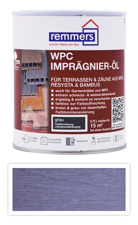 REMMERS WPC Imprägnier Öl - impregnační olej na WPC 0.75 l Šedá