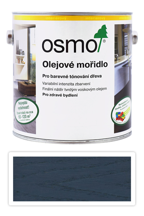 OSMO Olejové mořidlo 2.5 l Grafit 3514