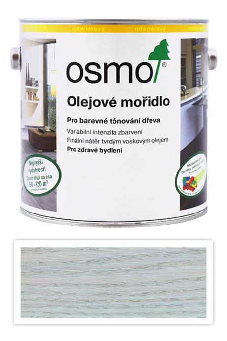 OSMO Olejové mořidlo 2.5 l Světle šedá 3518