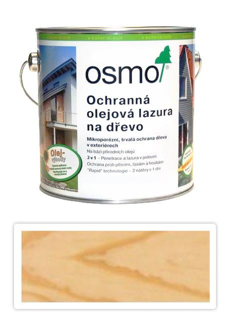 Osmo Ochranná olejová lazura na dřevo 2,5l bezbarvá matná 701