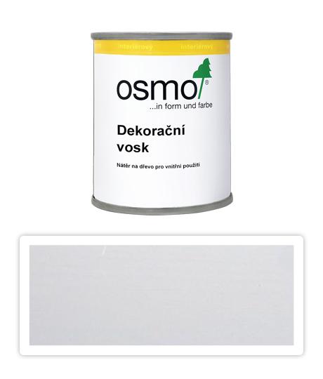 OSMO Dekorační vosk intenzivní odstíny 0.125 l Bílý mat 3186