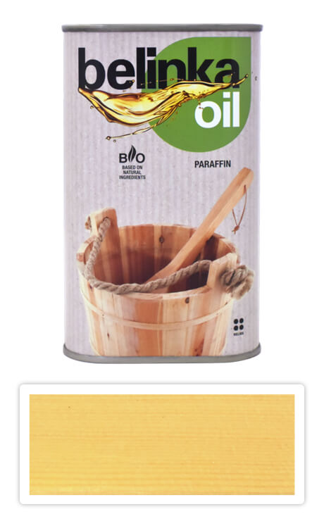 BELINKA Oil Paraffin - parafínový olej do sauny 0.5 l Bezbarvý